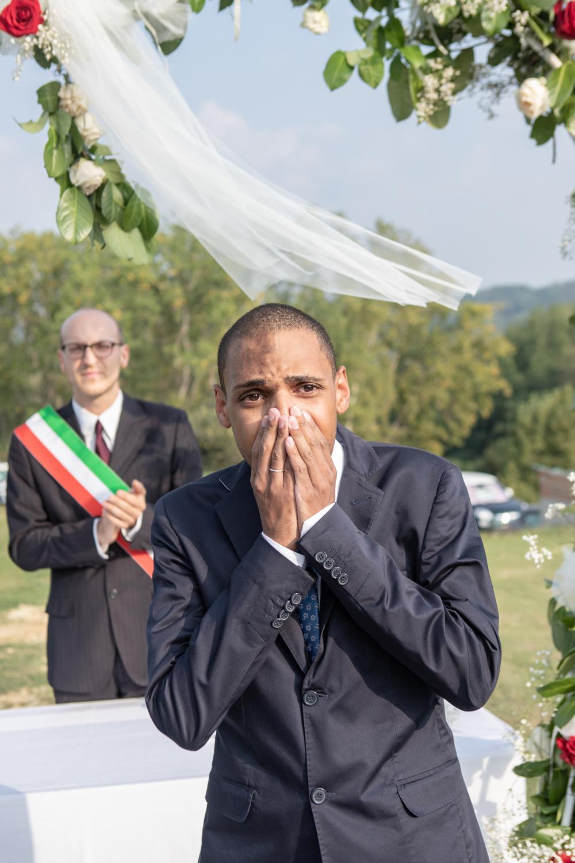 sposo sorpreso